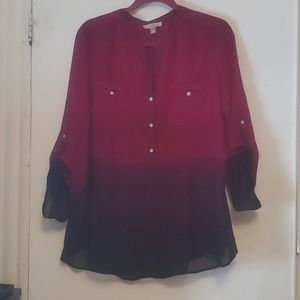 Womens ombre blouse
